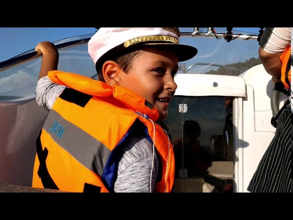A boat trip on the Volga River Russia Ulyanovsk official music video