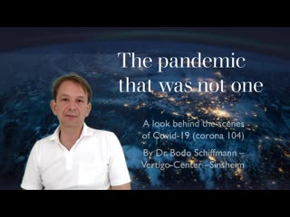 Dr. Bodo Schiffmann - We HAVE TO STOP THIS FOOLISH LOCKDOWN & FOOLISH MASK WEARING