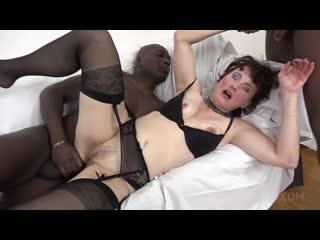 Kinky interracial DP with Alex Sharp