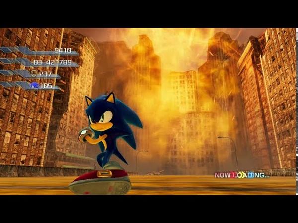 Sonic P 06 Demo 3 Crisis City S Rank No Gems