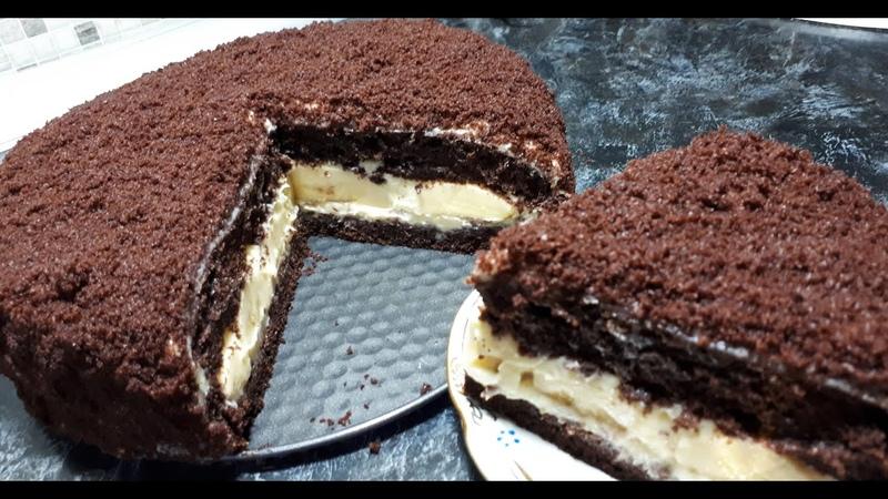 Вкуснющий Детский Шоколадный Торт Норка Крота Самый Вкусный Рецепт к чаю Tasty Pastries Recipe