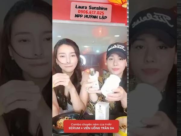 Nhật Kim Anh và Cao Thái Hà Review Combo chuyên nám của PHÁP   Laura Sunshine Npp Huỳnh Lập