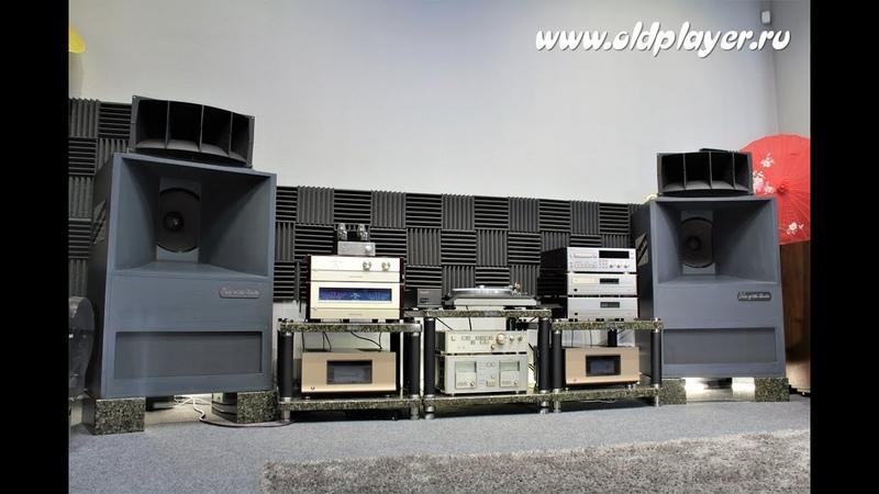 Altec A7 Denon PRA-1000B POA-1000B Tascam BR-20T тест Oldplayer