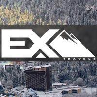 Логотип EX_TRAVELS/КРУТЫЕ ТУРЫ В ГОРЫ