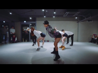 Прикольный бомба танец под  Daddy - Psy   May J Lee Choreography