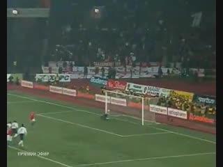 Россия 2:1 Англия (17 октября 2007 года)
