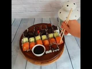 Как приготовить суши за 5 минут