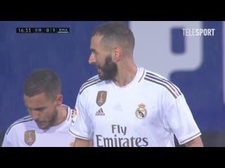 Эйбар  Реал Мадрид. Гол Карима Бензема