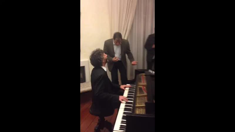 Qué grandes recuerdos Con Fito Páez en Carondelet cantando a todo pulmón el Fantasma