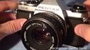 Pentax ME SMC-Pentax-M 1:2 50mm небольшой обзор функций
