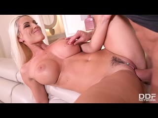 Blanche Bradburry - Busty Milf Fucked Deep In Ass And Pussy