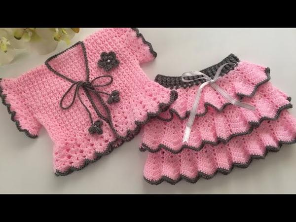 Fırfırlı 3 Katlı Bebek Eteği Nasıl Yapılır Baby Dress Baby Skirt