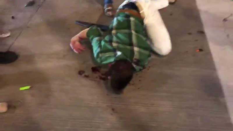 BREAKING man critically injured at Dallas riots