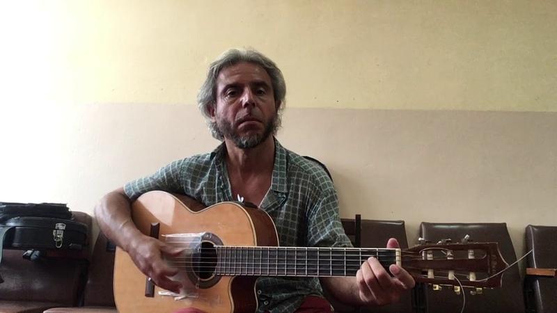 Виктор Цой Сосны на морском берегу guitar cover Garri Pat
