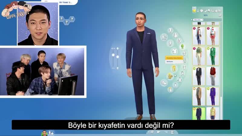 DAY6 Sims 4te Karakterlerini Oluşturuyor |