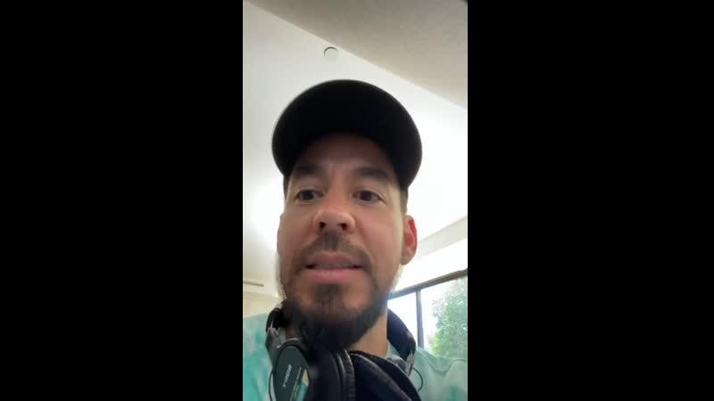 Mike Shinoda instagram story 27 05 2020 3