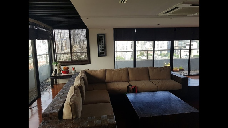 Penthouse duplex in Baan Prompong for sale