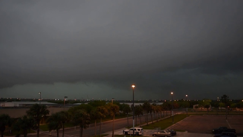Severe Warned Squall Line in Corpus Christi, TX - 472019