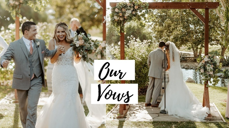 OUR VOWS WEDDING CEREMONY