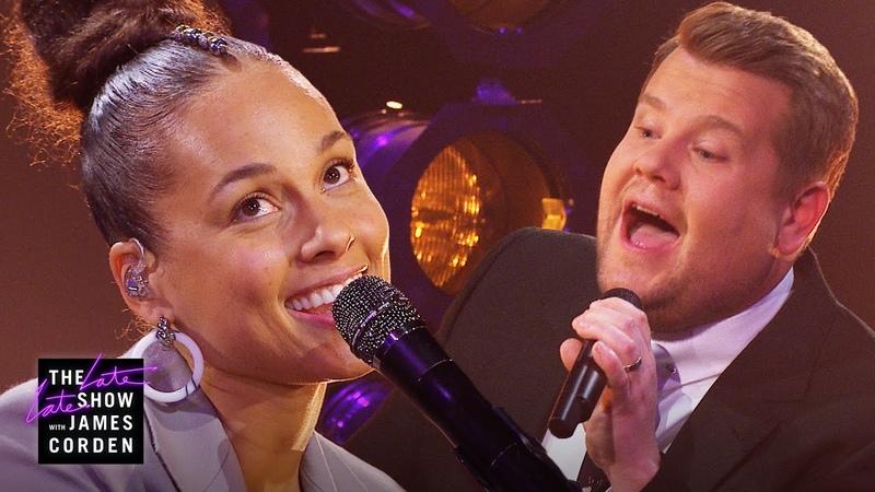A Grammy Host Is Born 'Shallow' Parody w Alicia Keys