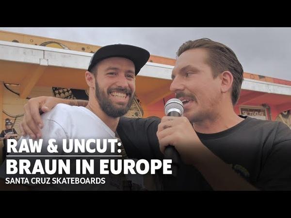 DemoStreet Bangers Check! Kevin Braun In EUROPE RAW UNCUT | Santa Cruz Skateboards