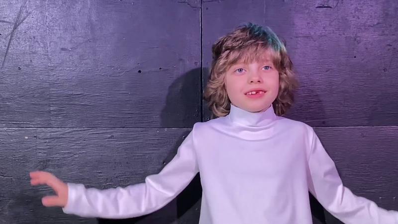 Визитка Данько Никита 7 лет