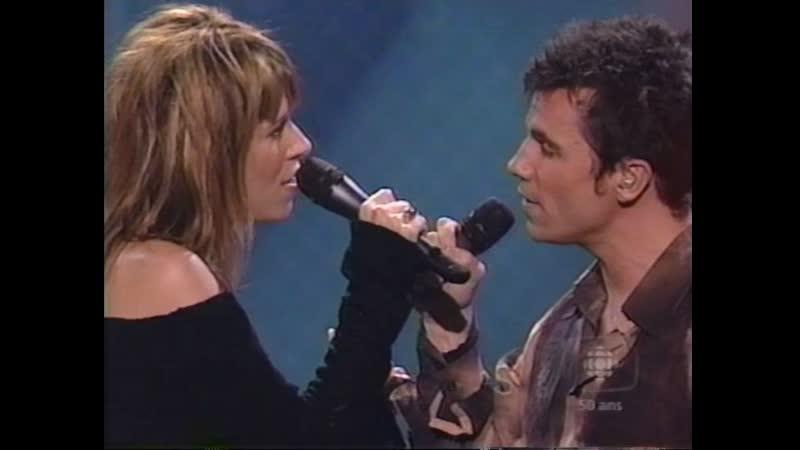 Luce Dufault et Bruno Pelletier La chanson des vieux amants 2002