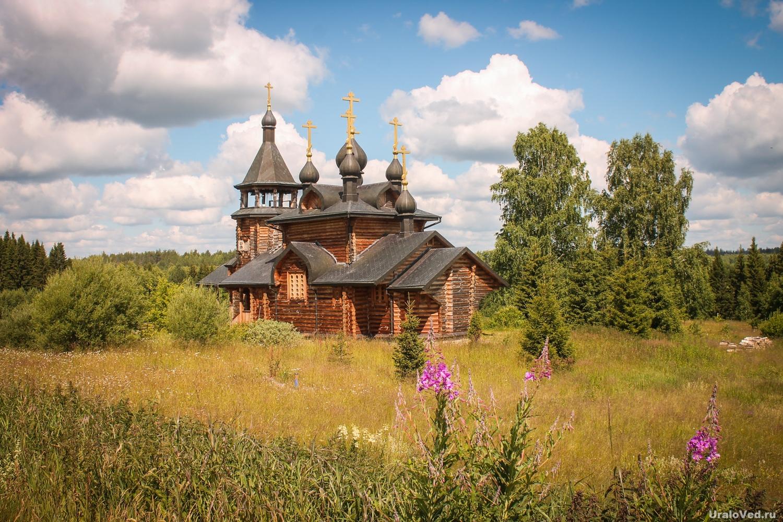 Церковь около Симеонова камня