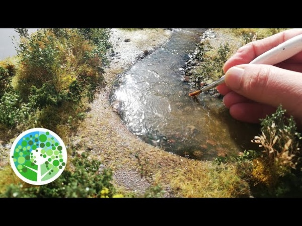 Making an ULTRA REALISTIC river diorama with AMAZING vegetation Making a Scene Vol 6