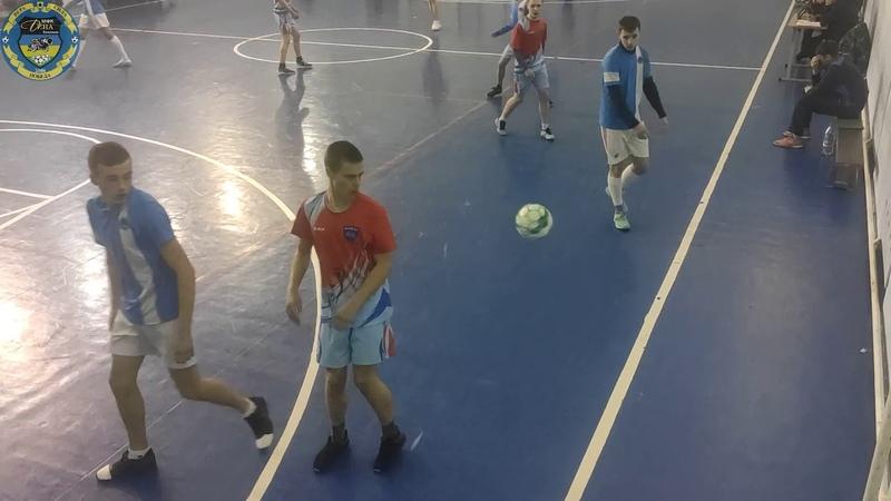 VIII кубок Козульского района по мини футболу 2019 2020 МФК Дина МФК Юниор Полуфинал 2 игра