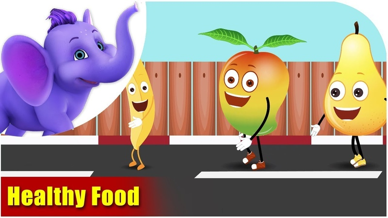 Values Songs Healthy Food Song for Kids