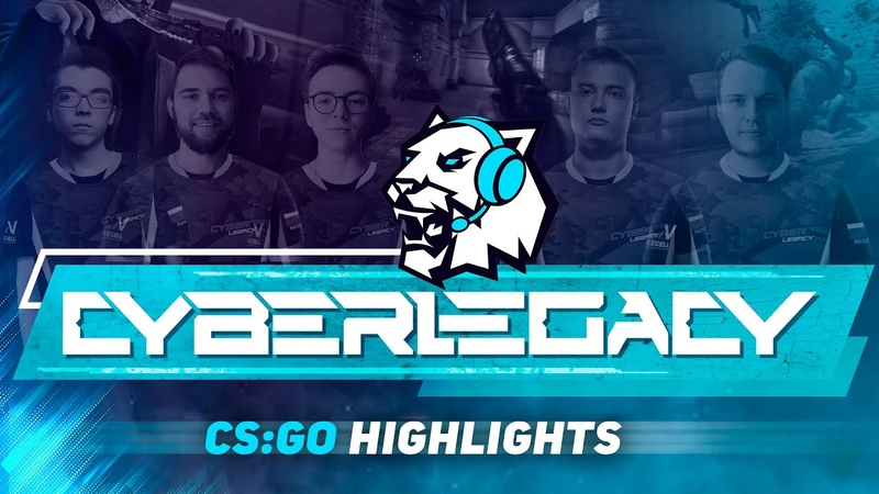 CYBER LEGACY CS GO Tournament Fight Night Highlights Clax Nat1ve Glowiing Tricky Seized