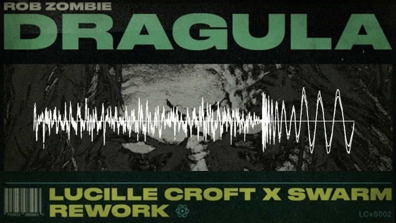 Rob Zombie Dragula Lucille Croft SWARM Re Work