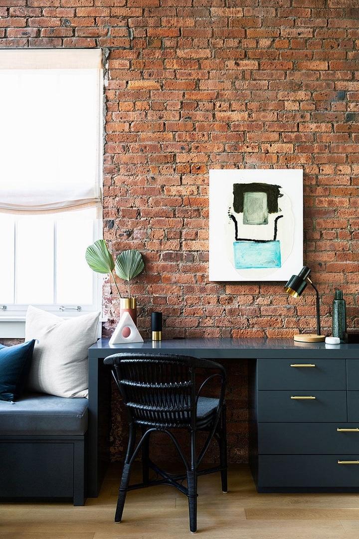 Интересный лофт с элегантными деталями в Бруклине