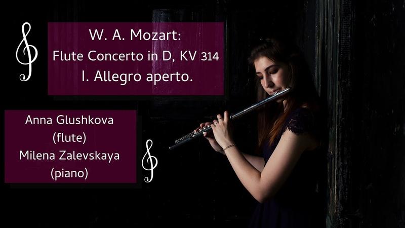 В А Моцарт Концерт для флейты №2 Ре мажор 1 часть W A Mozart Concerto №2 D Major part 1