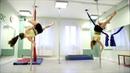 Pole Dance - отработка трюков