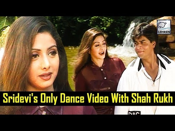 Shah Rukh Khan Sridevi's Dance Video From The Sets Of 'Army' Flashback Video