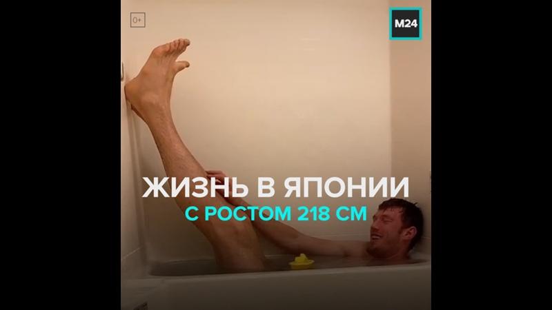 Как волейболист с ростом 218 см живёт в Японии Москва 24