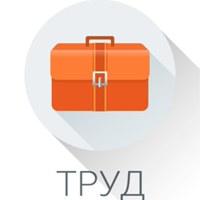 Логотип ТРУД УСЛУГИ РАБОТА Ростов-на-Дону