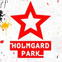 Логотип HOLMGARDPARK - Пейнтбол Лазертаг Кидбол Орбитаг