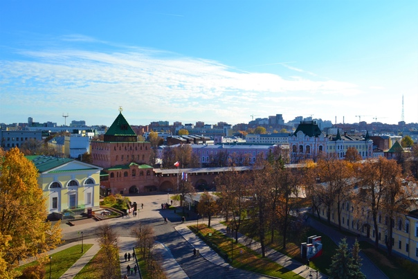 Красота осеннего города.Октябрь 2021 года...