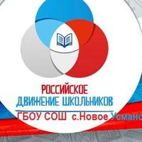 Логотип РДШ ГБОУ СОШ с.Новое Усманово