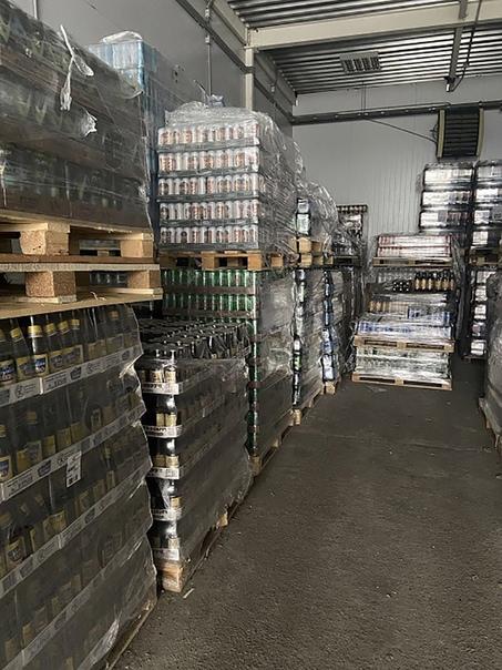 На Южном рынке торговали контрафактным пивом Страж...