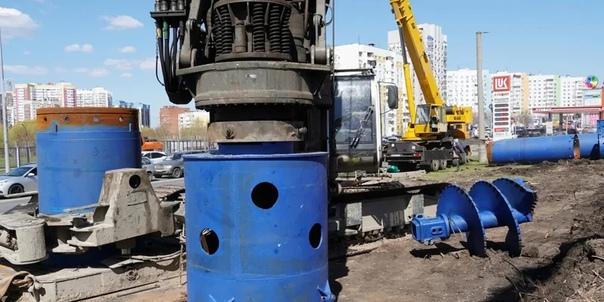 В Самаре продолжается масштабное строительство дву...