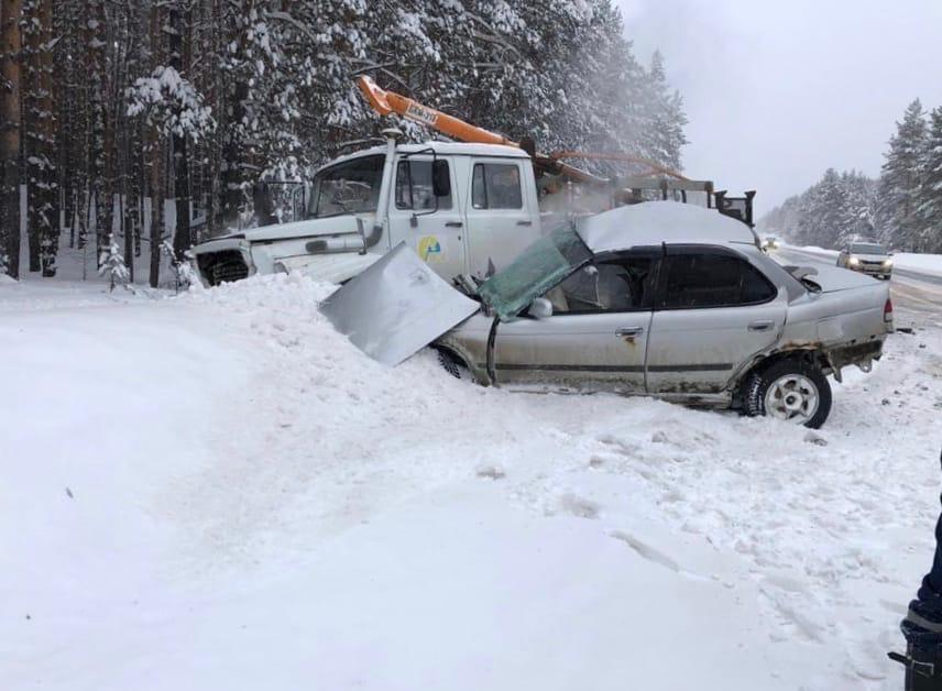 ДТП на трассе Йошкар-Ола - Зеленодольск