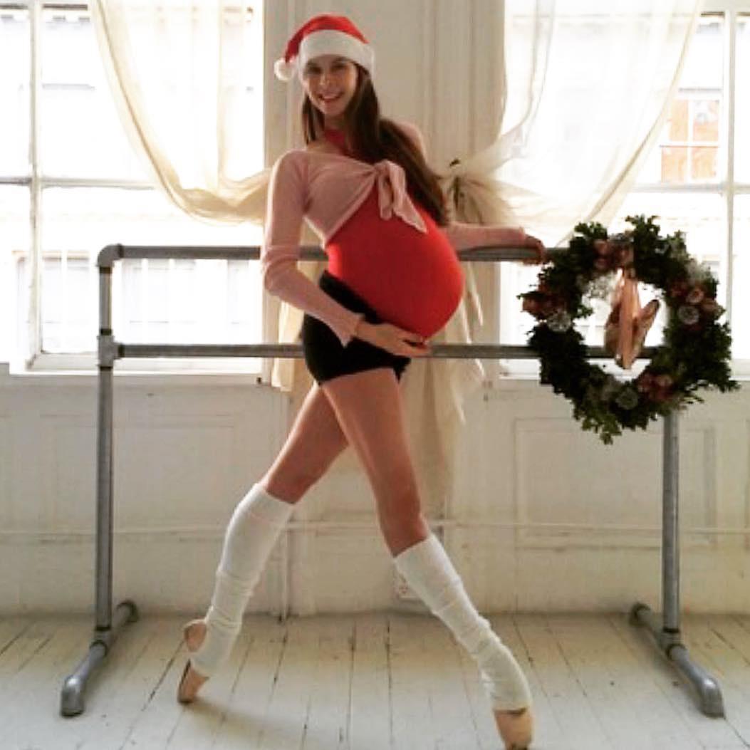 Известная балерина Мэри Хелен Боуэрс танцует даже перед родами ☺