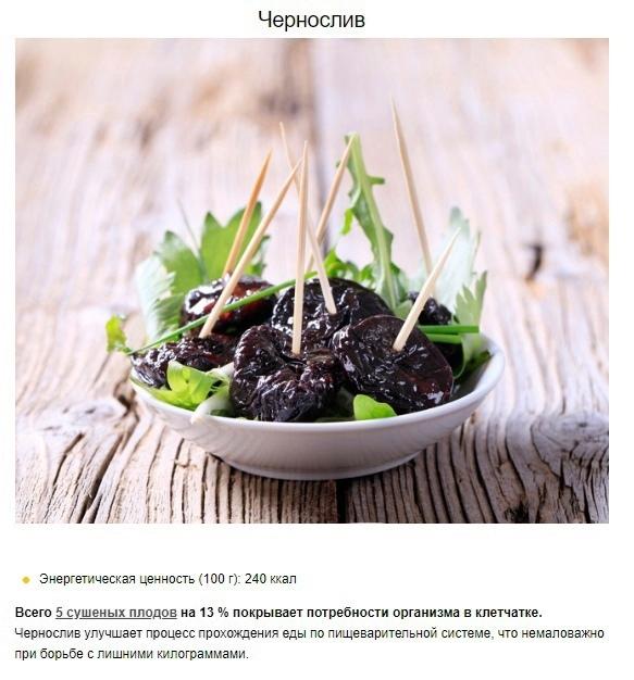 8 продуктов, которые помогут сбросить лишнее