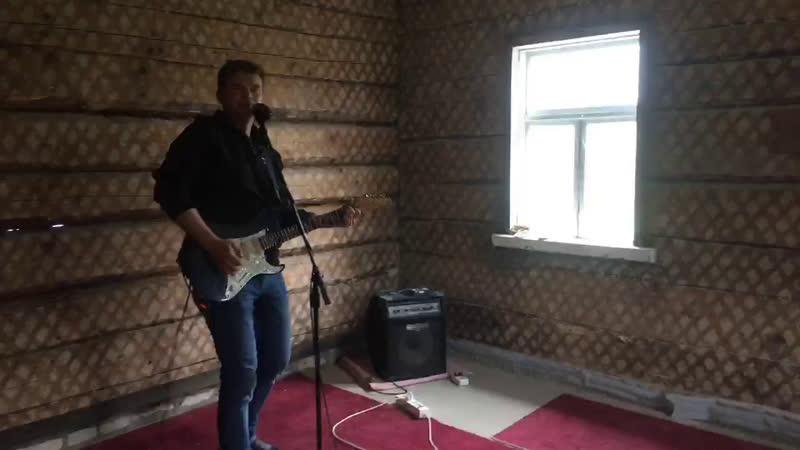 Репетиция ивацевичских рокеров Izobelyn звук сильно не включайте