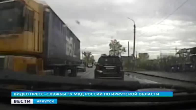Водителя задержали инспекторы ГИБДД после погони в Тулуне