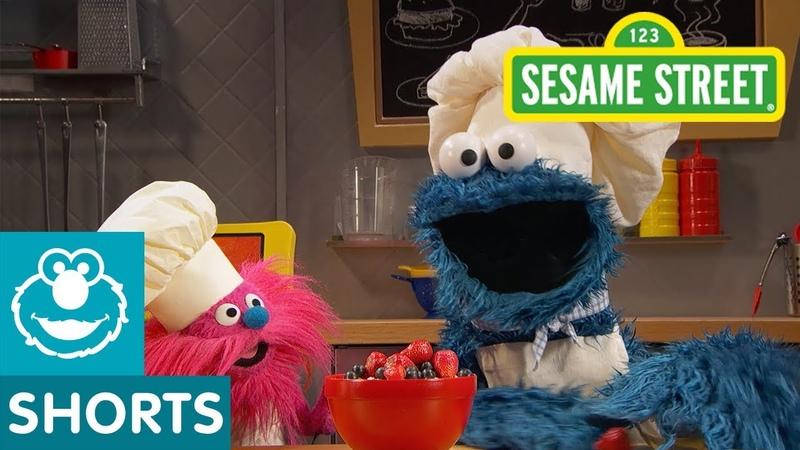Sesame Street Porridge Oatmeal Cookie Monster's Foodie Truck